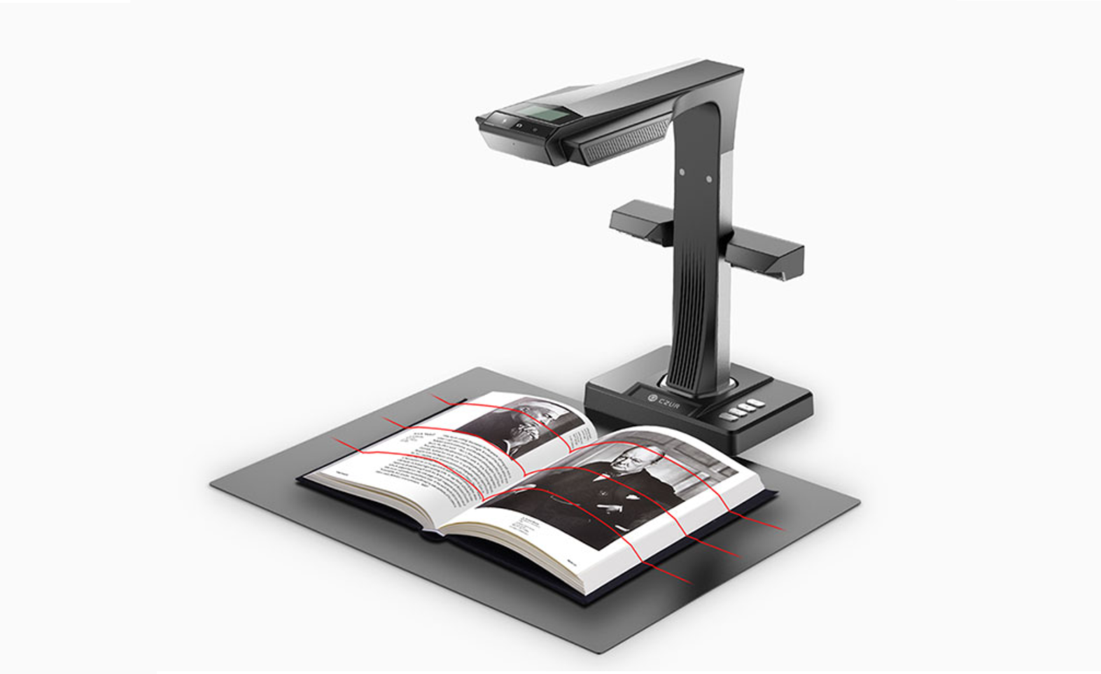 CZUR Book & Document Scanner Review