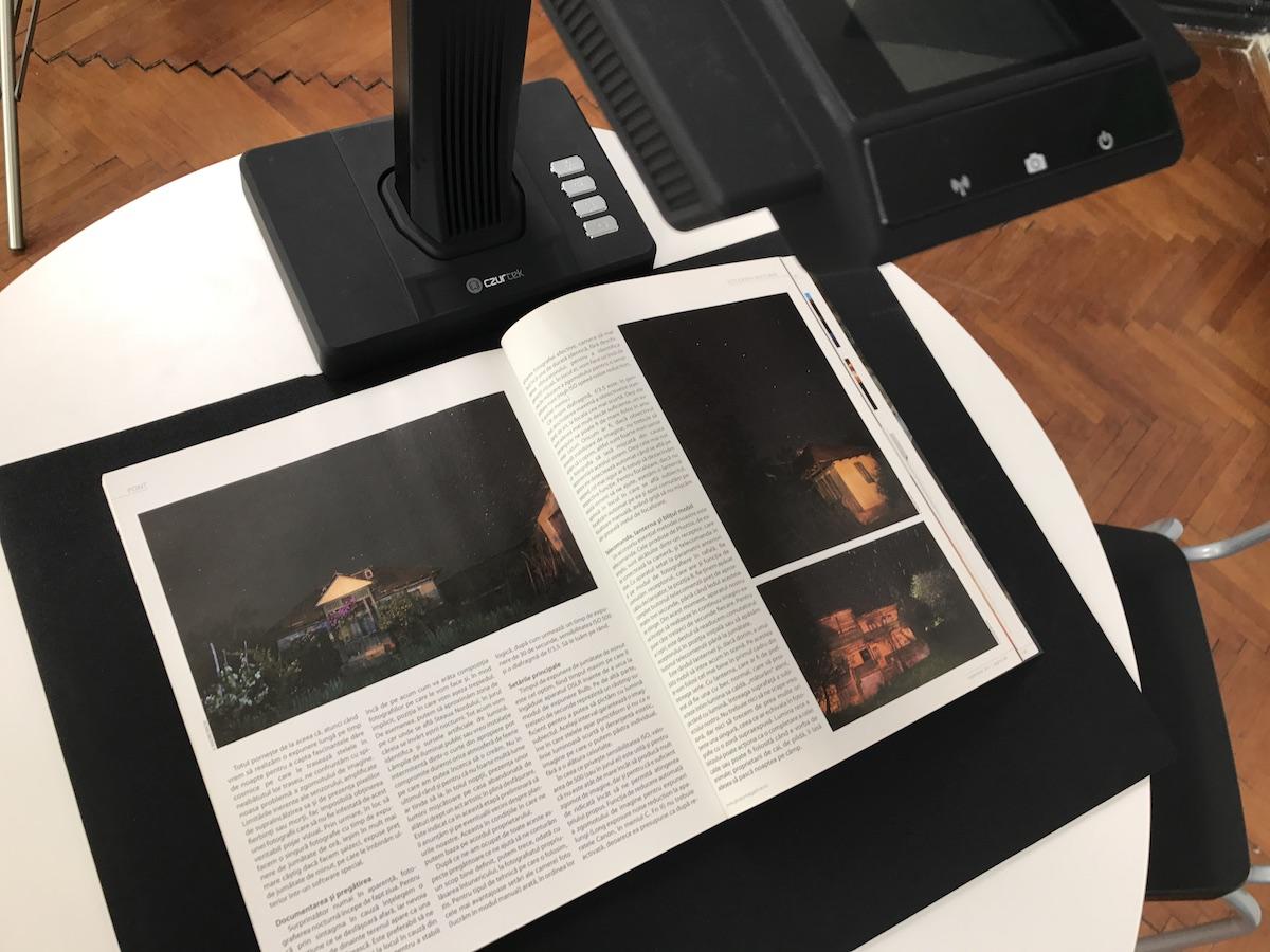 CZUR ET16 A3 REVIEW – Un scanner de carti din secolul asta!